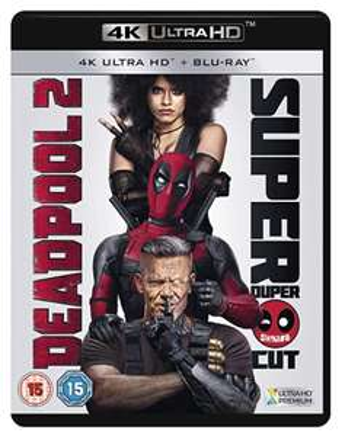 Deadpool 2 UHD & Blu-ray (+£2.99 non Prime) @ Amazon