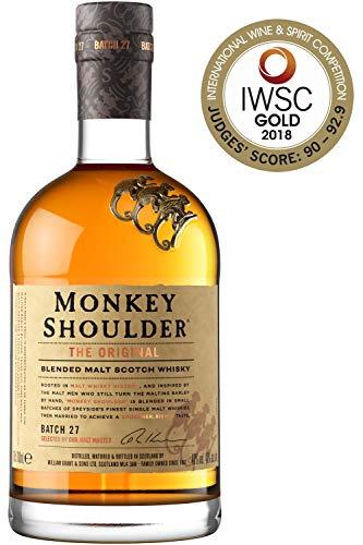 Monkey Shoulder Blended Malt Scotch Whisky, 70cl 40% ABV - £22 at Amazon