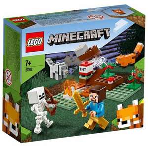 LEGO Minecraft 21162 Taiga Adventure - £5.50 (+ Delivery Charges / Min Spend Applies) @ ASDA