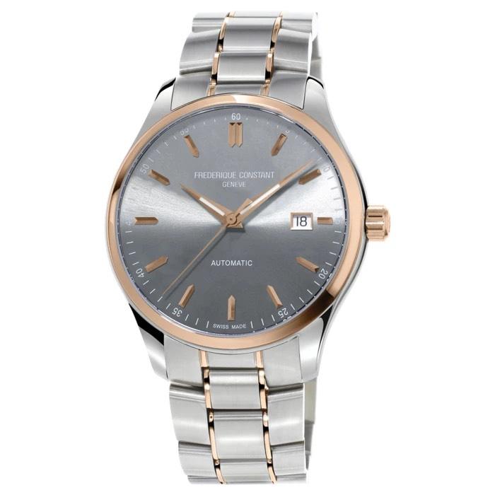 Frederique Constant Index Slimline 40mm Automatic Watch Fc-303lgr5b2b £497 at Burrells
