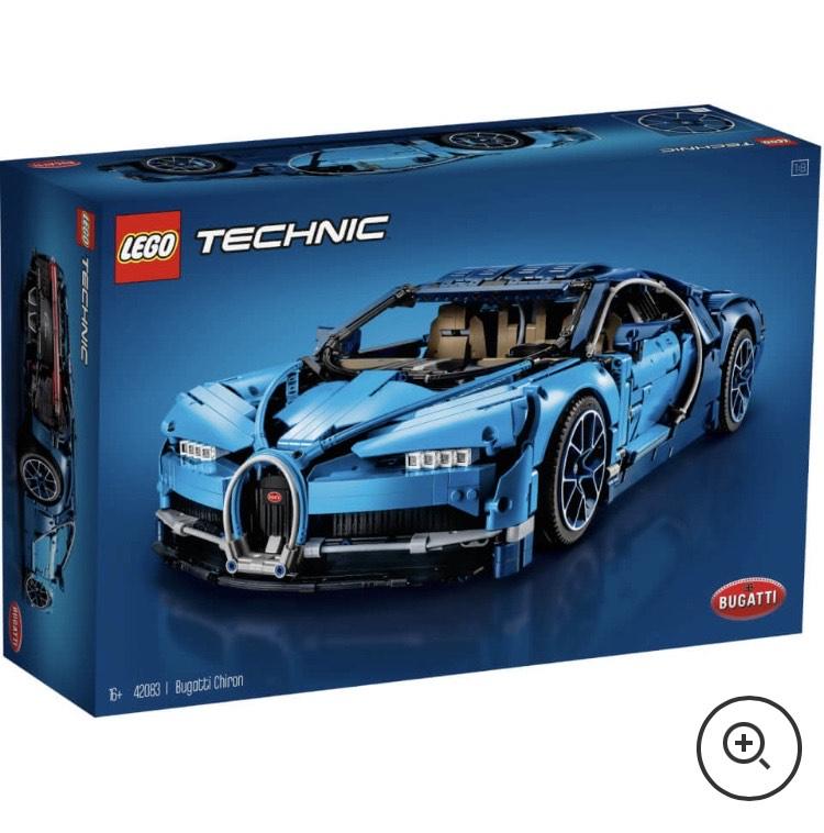 LEGO Technic: Bugatti Chiron Sports Race Car Model (42083) £249.99 + £1.99 @ Zavvi