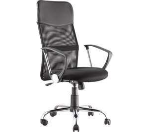 ALPHASON Orlando AOC4087BLK Tilting Operator Chair - Black £47.99 at Currys PC World