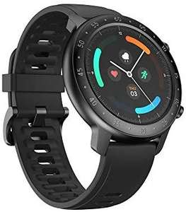 Ticwatch GTX Shadow Black Smartwatch - 10 Days Battery IP68 Heart Rate Monitor Sleep Monitoring - £26.55 @ Amazon
