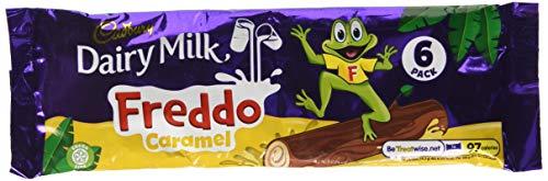Cadbury Dairy Milk Freddo Chocolate Caramel Bar x6 £1 (+£4.49 Non Prime) Amazon