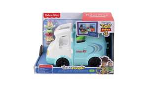 Fisher Price Little People Disney Toy Story 4 Jessie's RV playset reduced to £15.00 (+£3.95 delivery) @ Argos