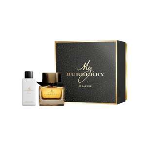 My Burberry Black 50ml EDP Gift Set - Now £24.99 Delivery +£3.95 del at Savers