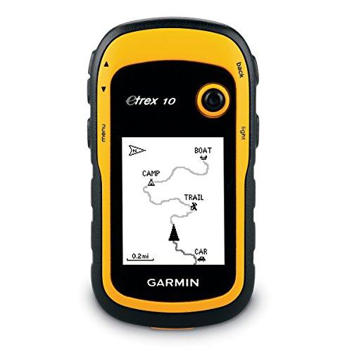 Garmin eTrex 10 Outdoor Handheld GPS Unit, Black/Yellow - £70.62 @ Amazon.eu