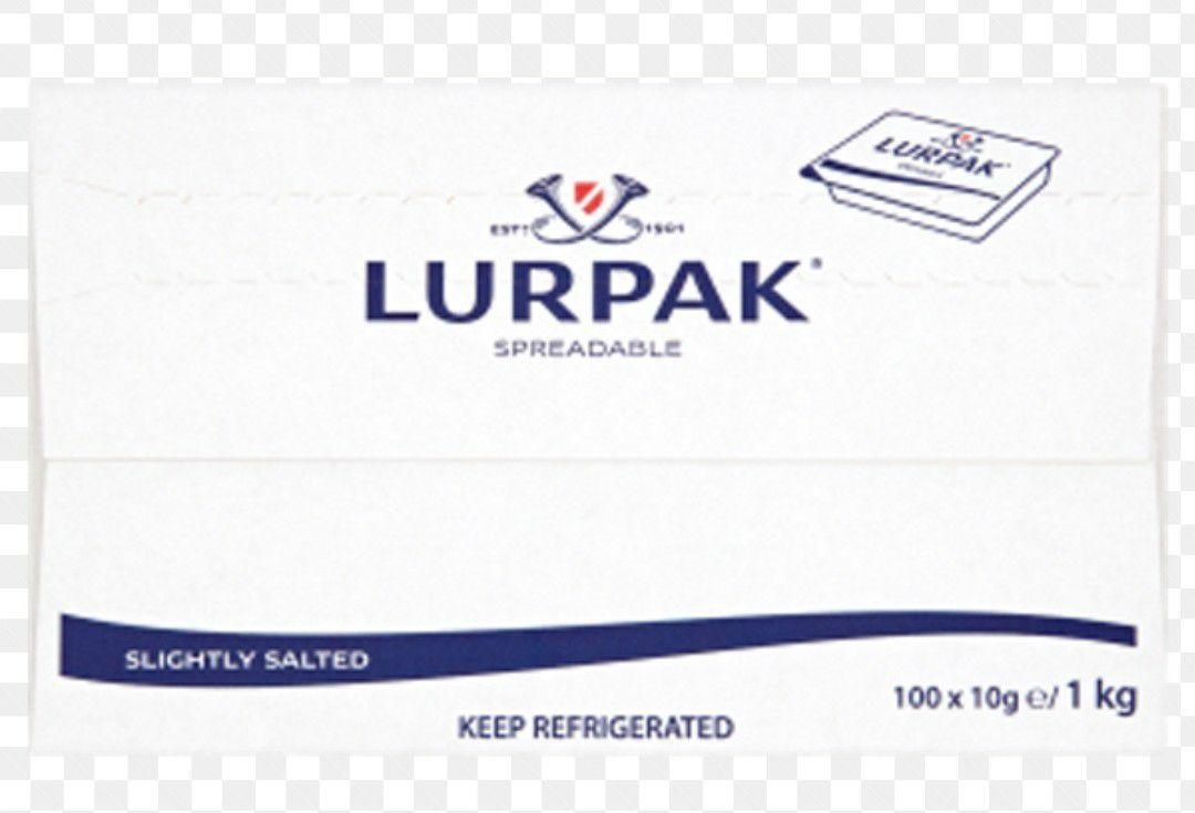 Lurpak spreadable (1kg) individual portion 10gX100 £3 at Fulton foods Huddersfield