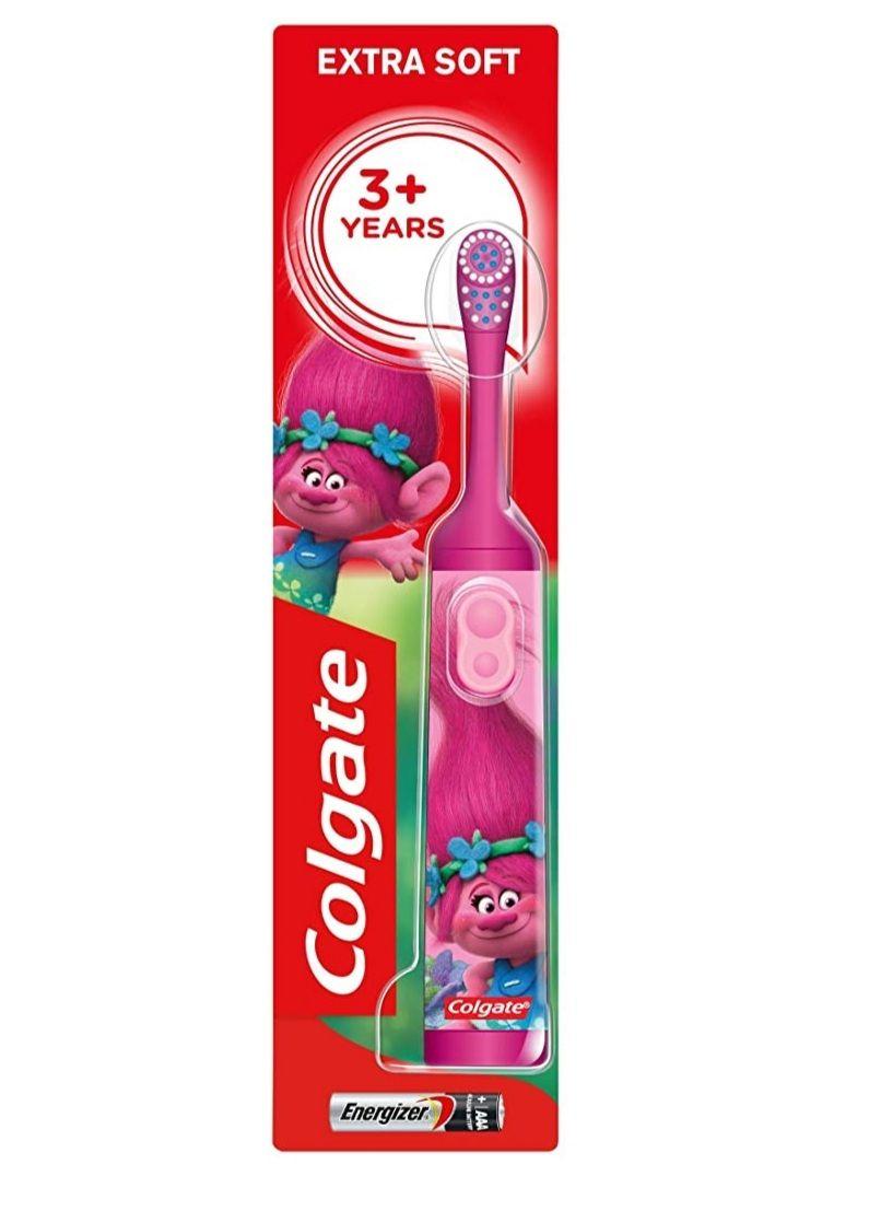 Colgate Trolls soft battery toothbrush £3.50 Amazon Prime (+£4.49 Non Prime). £2.97 on S&S