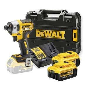 DEWALT DCF887M2 18V XR Brushless Impact Driver INC 2X 4.0AH BATTS £209.95 at Power Tool World