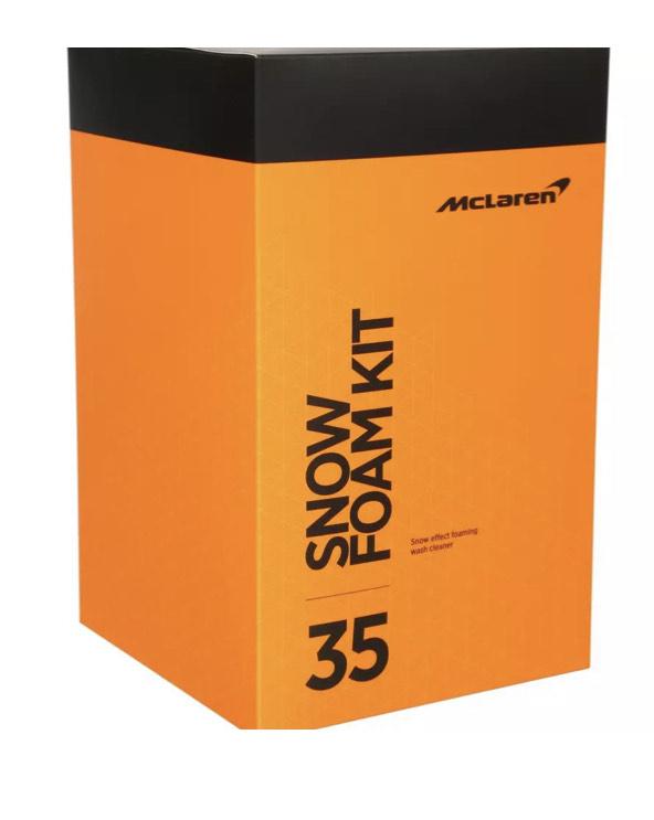 McLaren Snow Foam Kit - £20 delivered from Halfords