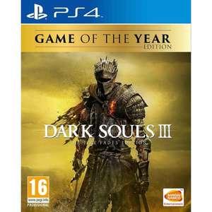 Dark Souls III The Fire Fades GOTY Edition (PS4) - £18.09 @ 365 Games