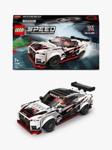 LEGO Speed Champions 76896 Nissan GT-R NISMO Race Car - £13.50 (+£3.50 Shipping) @ John Lewis & Partners