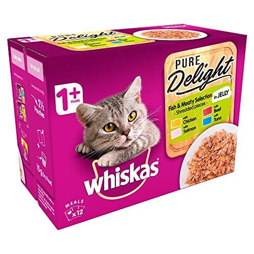 Whiskas cat food 12 x 4 for £3.49 (+£4.49 Non-Prime) @ Amazon