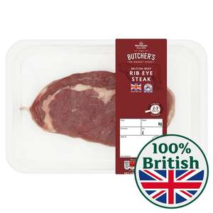Rib-Eye Steaks Equivalent to £13kg (+ Delivery Charge / Minimum Spend Applies) @ Morrisons