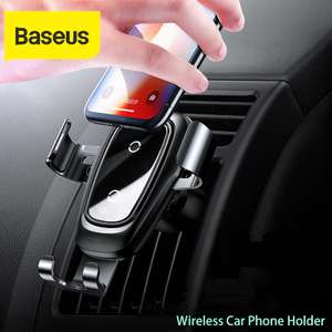 Baseus Wireless Car Charger (10w) Upgraded model £14.18 Delivered @ AliExpress / Shop3083004