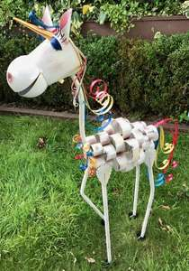 Ursula The Unicorn Large Metal Garden Ornament Now £17.10 with code @ Olive & Sage