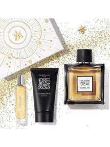 GUERLAIN - L'Homme Ideal' Eau de Toilette 100ml Christmas Gift Set with code - GX96 - £44.19 + £2.99 Delivery @ Debenhams