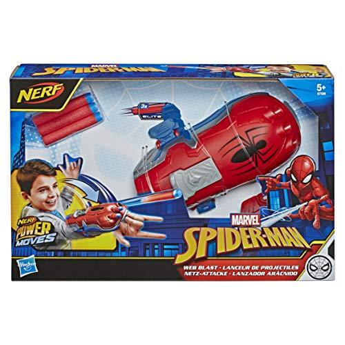 NERF Power Moves Marvel Spider-Man Web Blast Web Shooter £14.99 (Prime) + £4.49 (non Prime) at Amazon