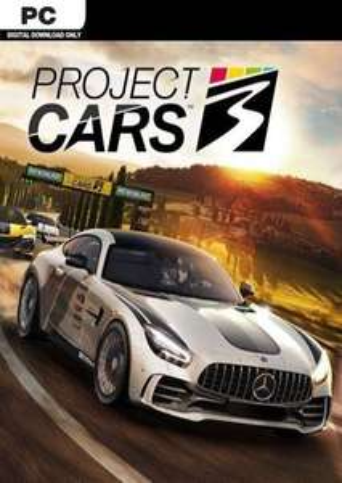 PC (Steam) Project Cars 3 £18.39 @ CDKeys
