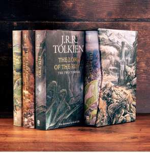 The Hobbit & The Lord of the Rings Boxed Set: Illustrated edition Hardcover Books £57.49 at Amazon