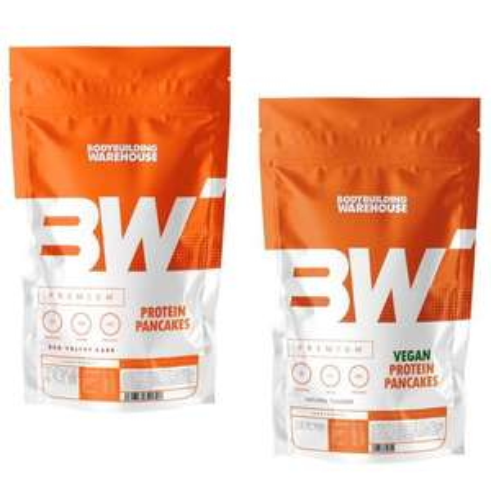 Premium Protein Pancakes 500g £7.12 / 1KG £9.57 / 2KG £14.47 Delivered - Plus Vegan Options @ Bodybuilding Warehouse