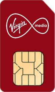 Virgin SIMO Unlimited minutes & Text + 5g 10GB data £8 @ Virgin Media (£15 possible cashback)