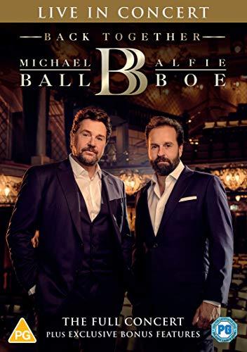 Michael Ball & Alfie Boe: Back Together - Live in Concert [DVD] [2020] £5 Prime / £7.99 Non Prime @ Amazon