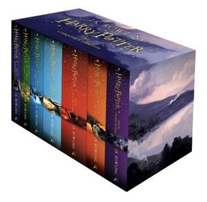 Harry Potter complete book series £33.98 delivered @ Books4People