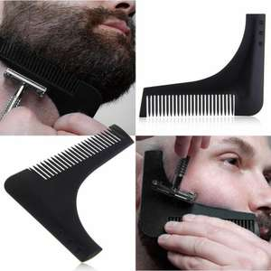 Beard Shaping Styling Template Tool £1.99 Delivered @ yeahtech / eBay