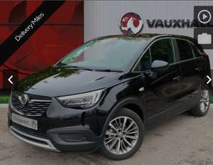 Vauxhall Crossland X 1.2 Griffin SUV 5dr Petrol Manual with Delivery miles £12,995 @ Pentagon Motor Group