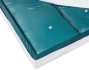 Dual EU Super King Waterbed Mattress Low Wave Reduction £199.99 delivered @ Beliani