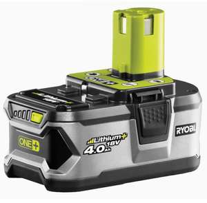 Ryobi RB18L40 18V ONE+ Lithium+ 4.0Ah Battery £56 from Amazon