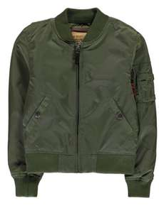 ALPHA INDUSTRIES MA1 TT Bomber Jacket (sage colour) £36.99 plus £4.99 shipping @ House of Fraser