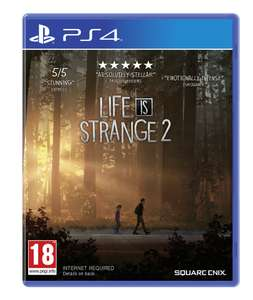Life is Strange 2 (PS4/Xbox One) £7.99 / Nier: Automata (PS4) £12.99 Delivered @ Square Enix Store