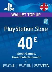 £40 PlayStation Network PSN Credit for £33.07 from Instant Gaming