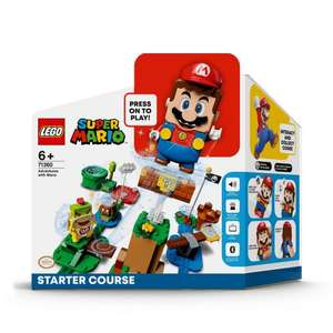 LEGO Super Mario 71360 Adventures Starter Course - £30 + £3.95 Delivery @ Starlings Toys