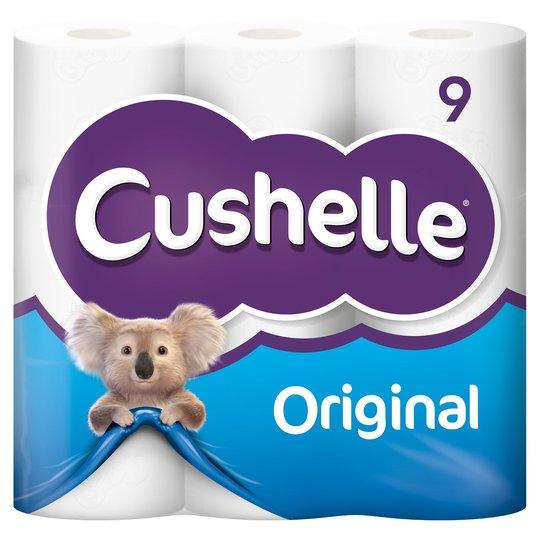 Cushelle original 9 Roll pack of Toilet Rolls £1.75 at Asda Cardiff
