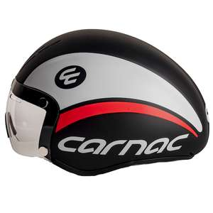 Carnac Kronus Time Trial and Track Helmet size large black red white £33.98 delivered at Planet X
