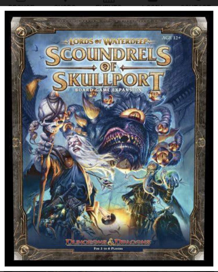 Lords of Waterdeep Scoundrels of Skullport - £25.99 Delivered @ Blackwells