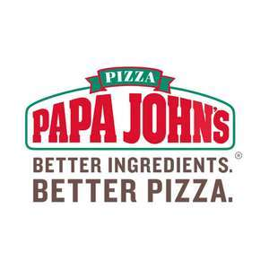 50% off £20+ spend pizza with code @ Papa John's