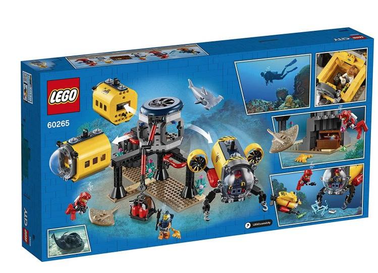 Lego city 60265 ocean exploration base deep sea underwater set £40 + £3.95 delivery @ Starlings Toys