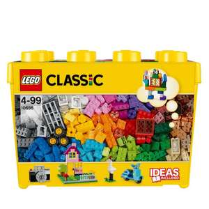 LEGO Classic 10698 Large Creative Brick Box Construction Set - £25 + £3.95 Delivery @ Starlings Toys
