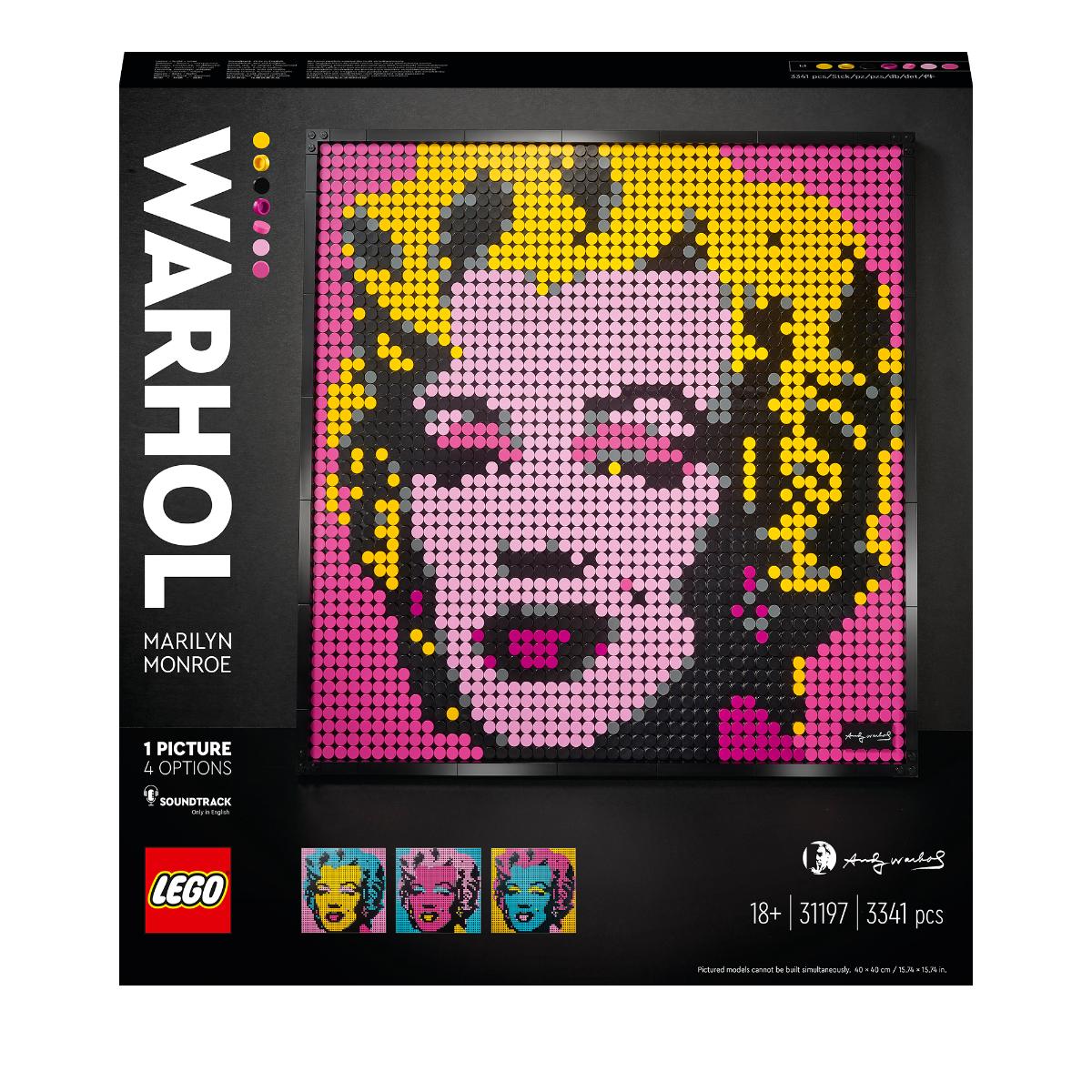 LEGO Art 31197 Andy Warhol's Marilyn Monroe - £75 @ Starlings Toys