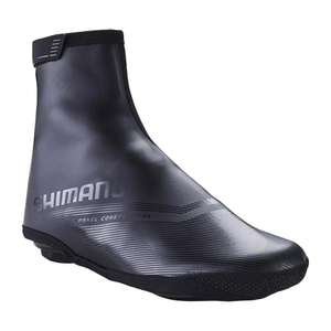 SHIMANO CYCLING OVERSHOES S2100D - BLACK £24.99 + £4.99 delivery at Decathlon