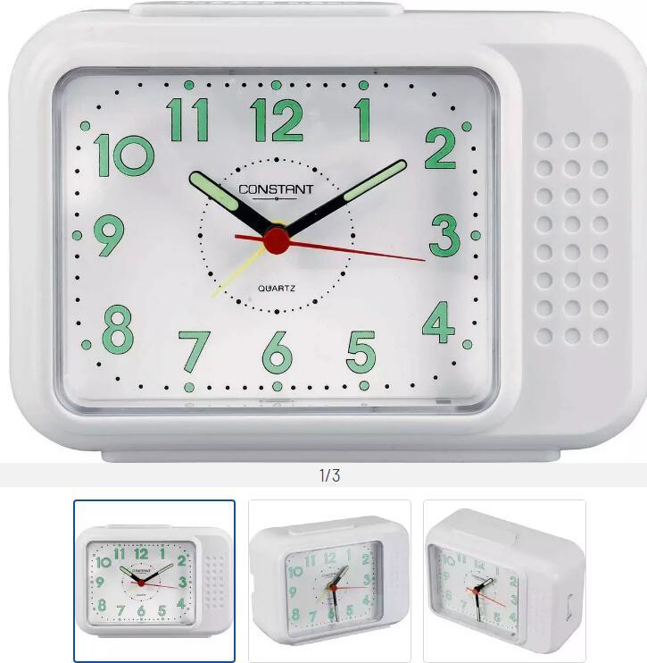 Constant analogue Alarm Clock £4 + £3.95 Delivery @ Argos