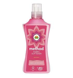 Method pink freesia fabric softener 45 washes £3.50 prime / £7.99 nonPrime / £3.15 with s&s. Amazon