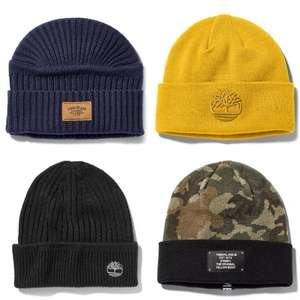 Timberland Beanie for Men (different colours and styles) for £13.50 delivered (using code) @ Timberland