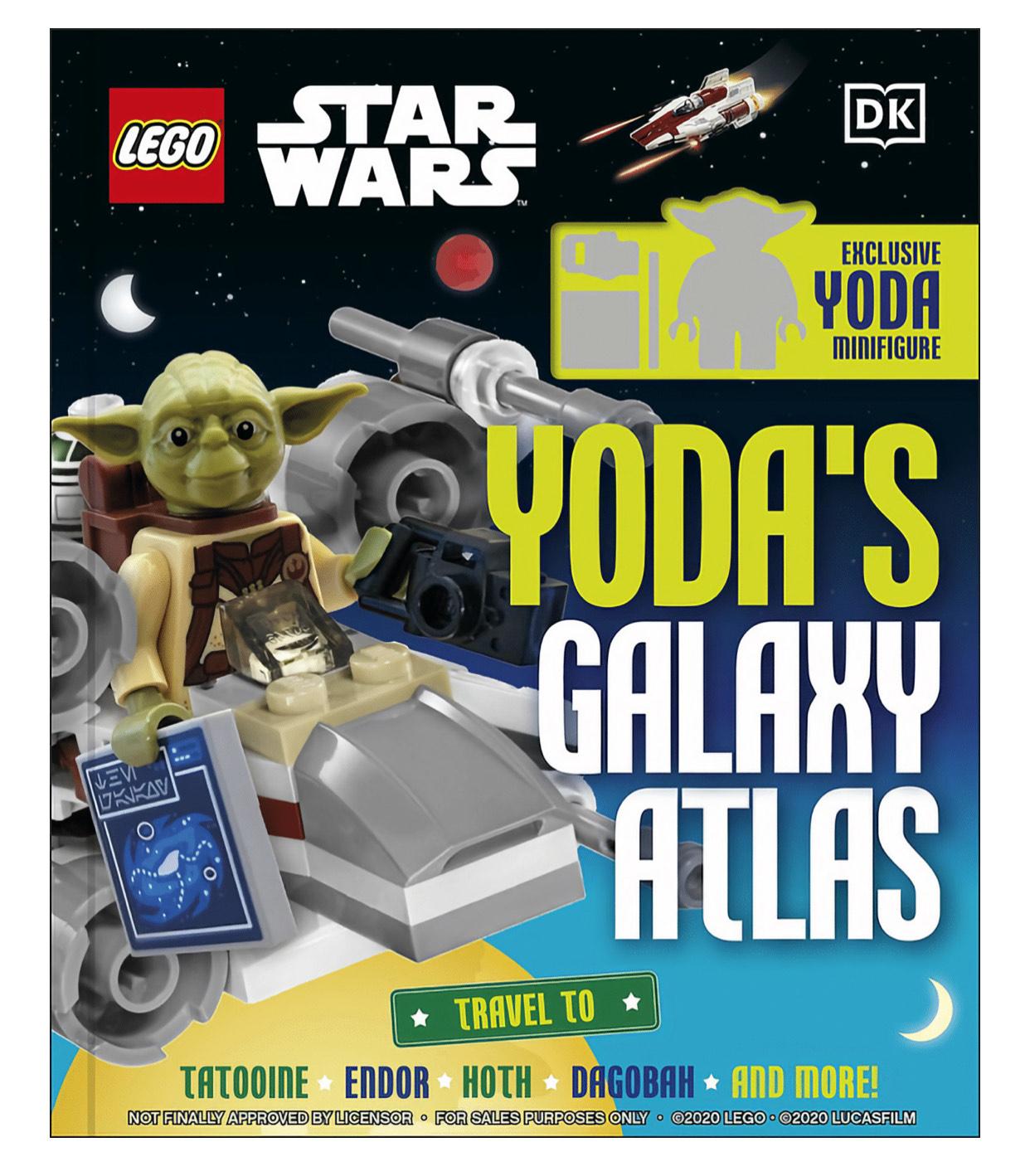LEGO Star Wars Yoda's Galaxy Atlas £8.45 at A Great Read