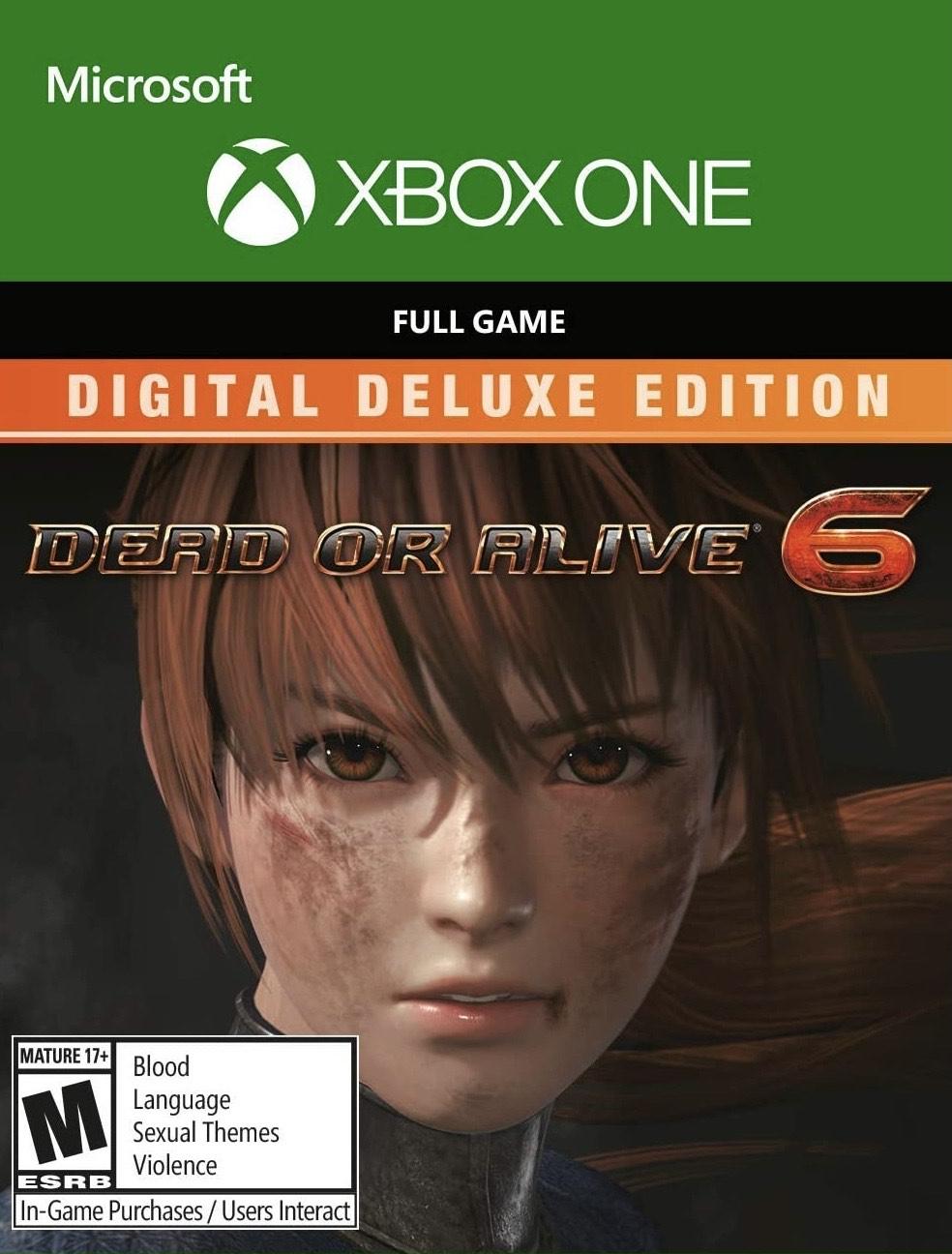 DEAD OR ALIVE 6 Digital Deluxe Edition Xbox One - £20.99 @ Microsoft Store